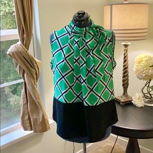 New York And Company Blouse Size XL